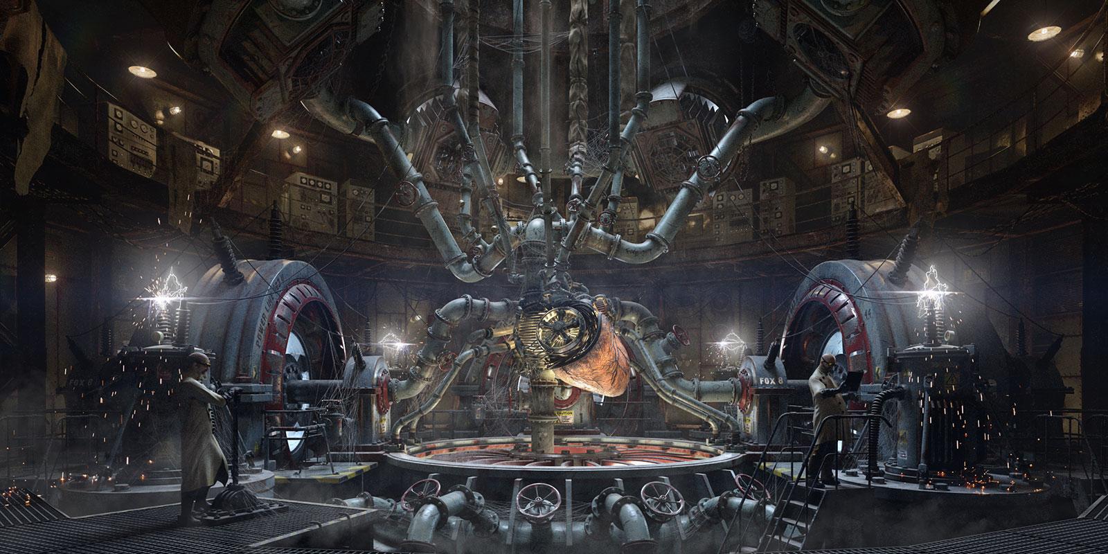 Work in progress – fantasy strojovňa